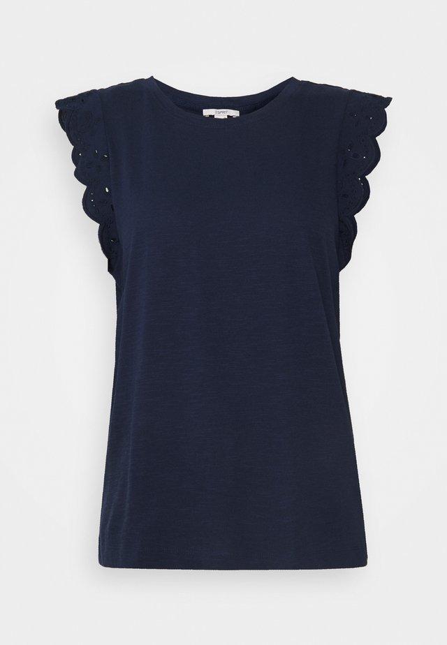 ANGLAIS - T-shirt print - navy