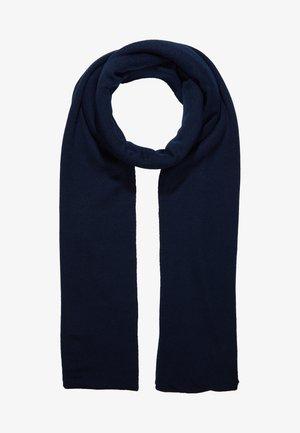 Sjal - dark blue/ camel