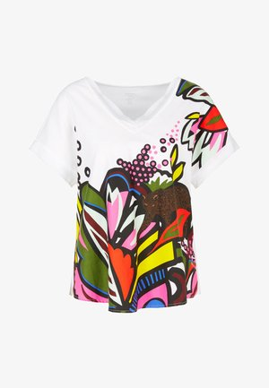 CABARET - Print T-shirt - white