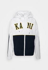 Karl Kani - COLLEGE BLOCK WINDRUNNER - Summer jacket - white - 5