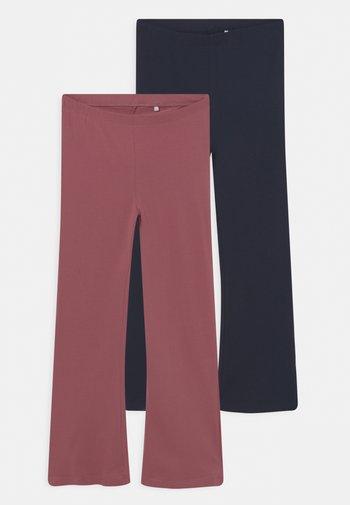 NKFVIVI 2 PACK - Leggings - Trousers - deco rose