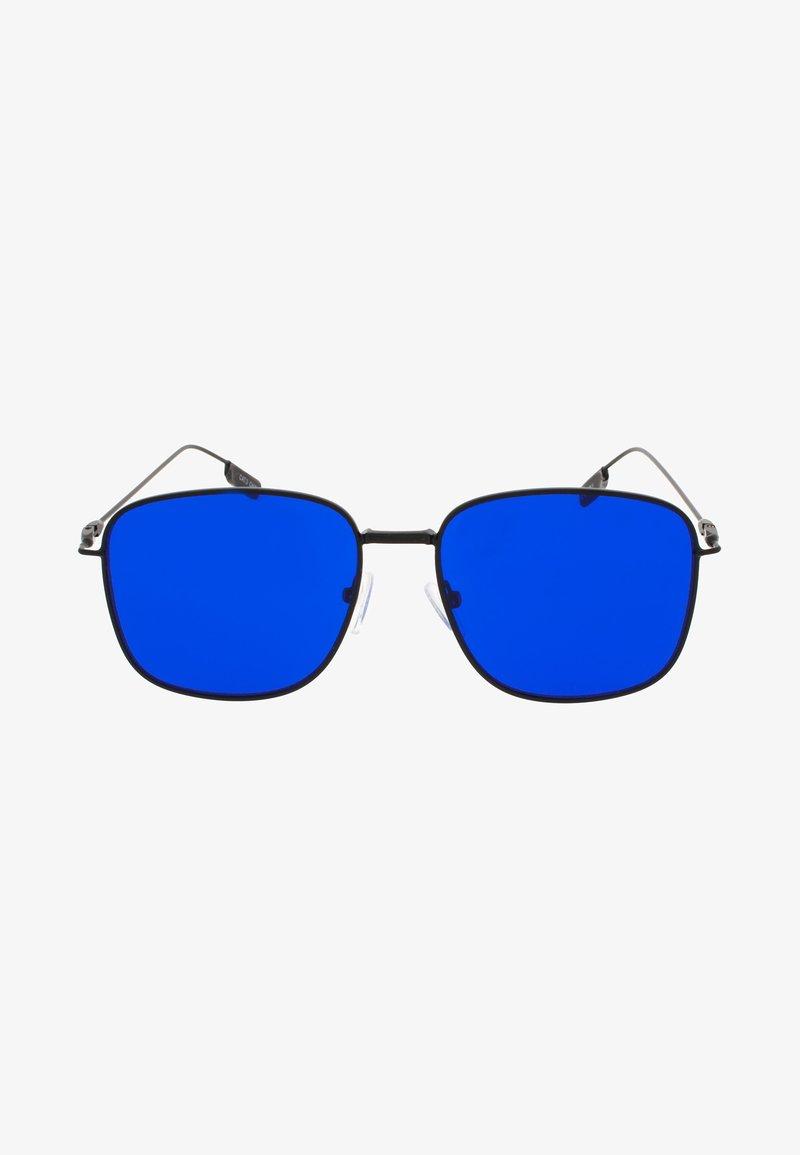 Icon Eyewear - SPHINX - Sluneční brýle - matt black / blue