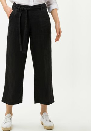 STYLE MAINE - Trousers - black