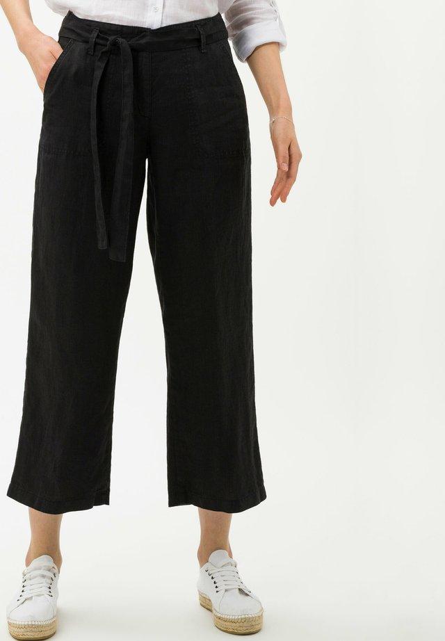 STYLE MAINE - Pantalon classique - black