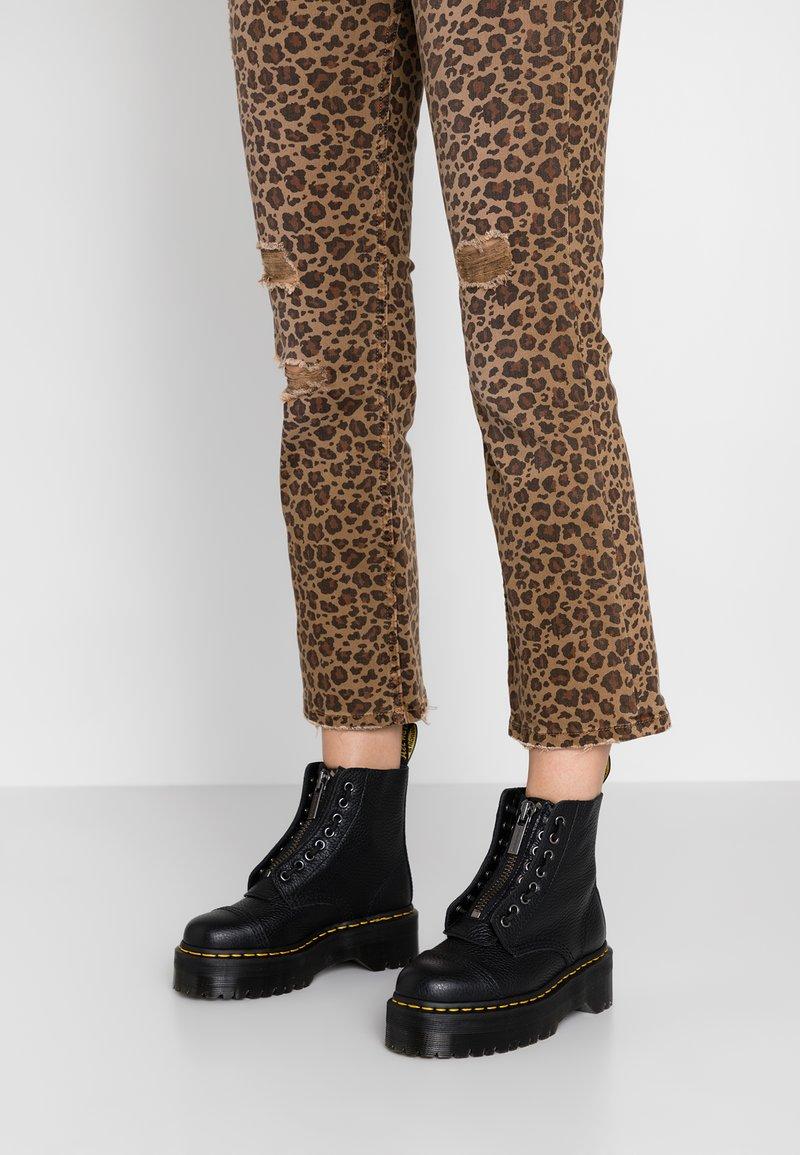 Dr. Martens - SINCLAIR - Platform ankle boots - black/aunt sally