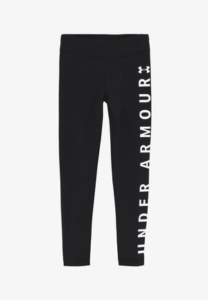 SPORTSTYLE BRANDED LEGGINGS - Legginsy - black/white