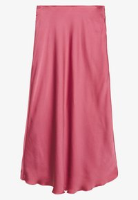 Abercrombie & Fitch - HIGH WAIST MIDI SKIRT - A-line skirt - coral - 1