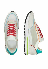 Ed Hardy - SLIVER RUNNER-NAKED TOKYO - Trainers - white - 6