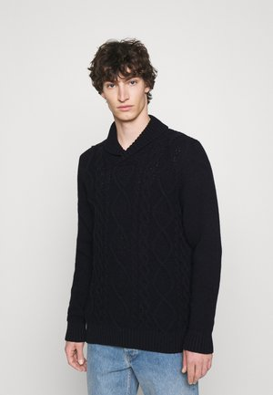 CHASE CABLE - Jumper - navy