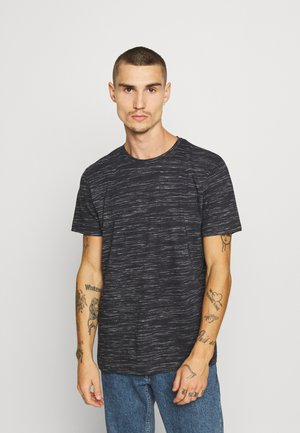 ALBERTO - Print T-shirt - rich navy/ecru