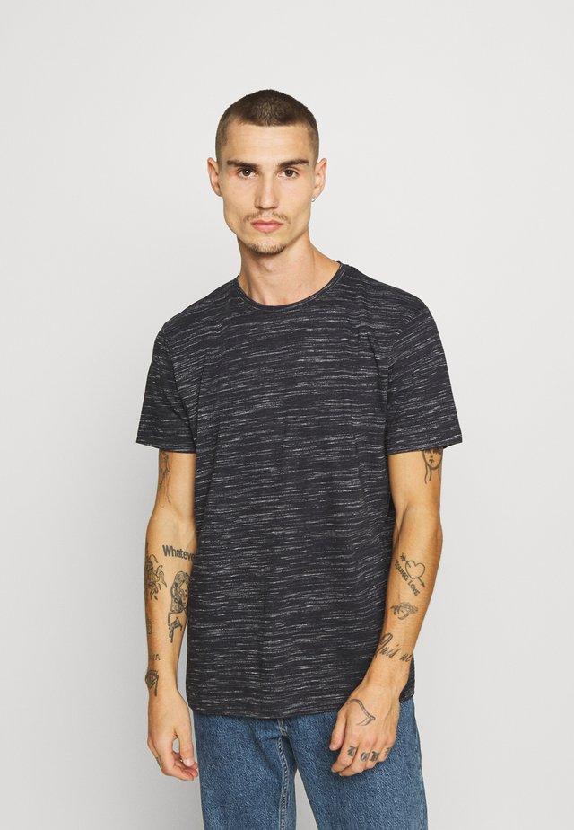 ALBERTO - T-shirt con stampa - rich navy/ecru