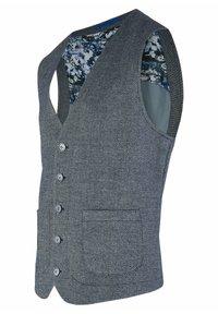 Calamar - Suit waistcoat - blue denim - 4