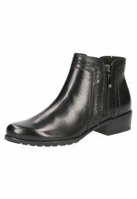 Caprice - Kotníková obuv - black nappa - 2