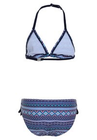 s.Oliver - TRIANGEL SET - Bikiny - blue - 1