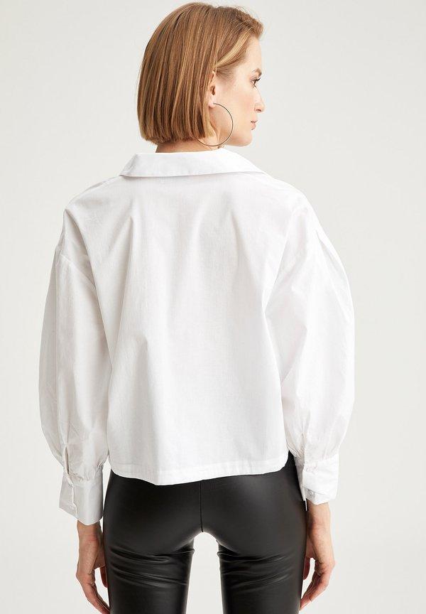 DeFacto Koszula - white/biały NTVA