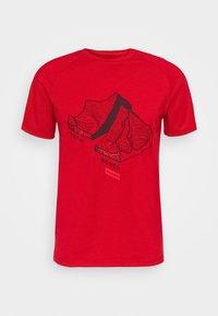 Mammut - MOUNTAIN - Print T-shirt - magma - 3