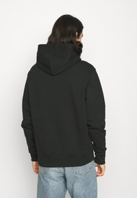 adidas Originals - BASICS HOODIE UNISEX - Sweatshirt - black - 2