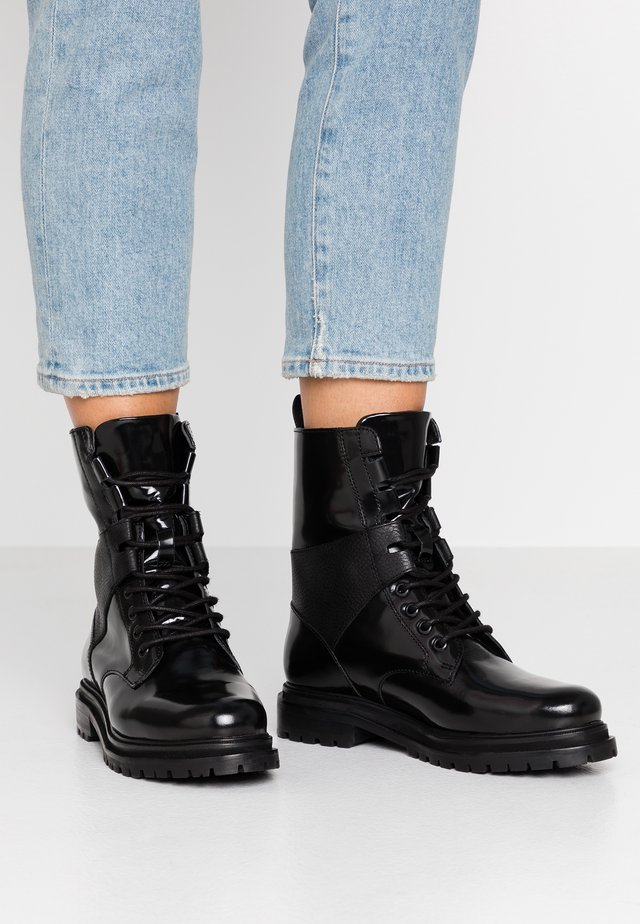 BLAIR - Lace-up ankle boots - black