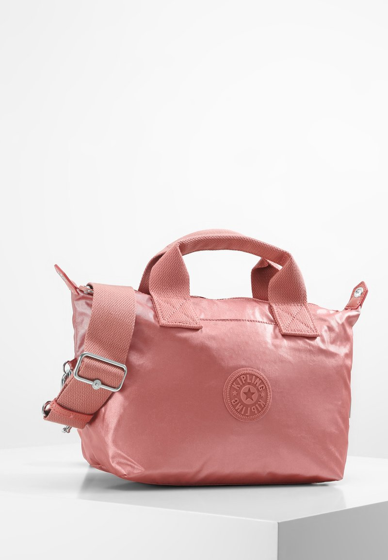 Kipling - KALA MINI - Tote bag - metallic rust
