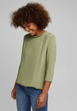 Long sleeved top - light khaki