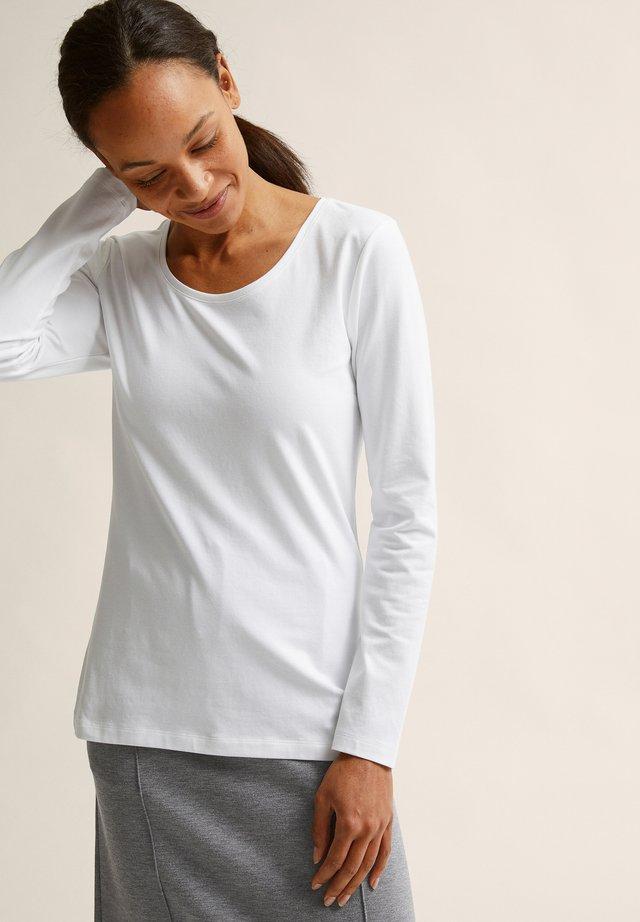 ELISA  - Pitkähihainen paita - white