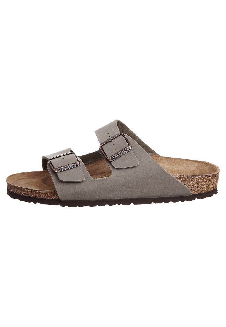 Birkenstock ARIZONA NARROW FIT Pantolette flach stone/stein