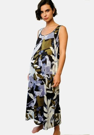 Nightie - leaf print