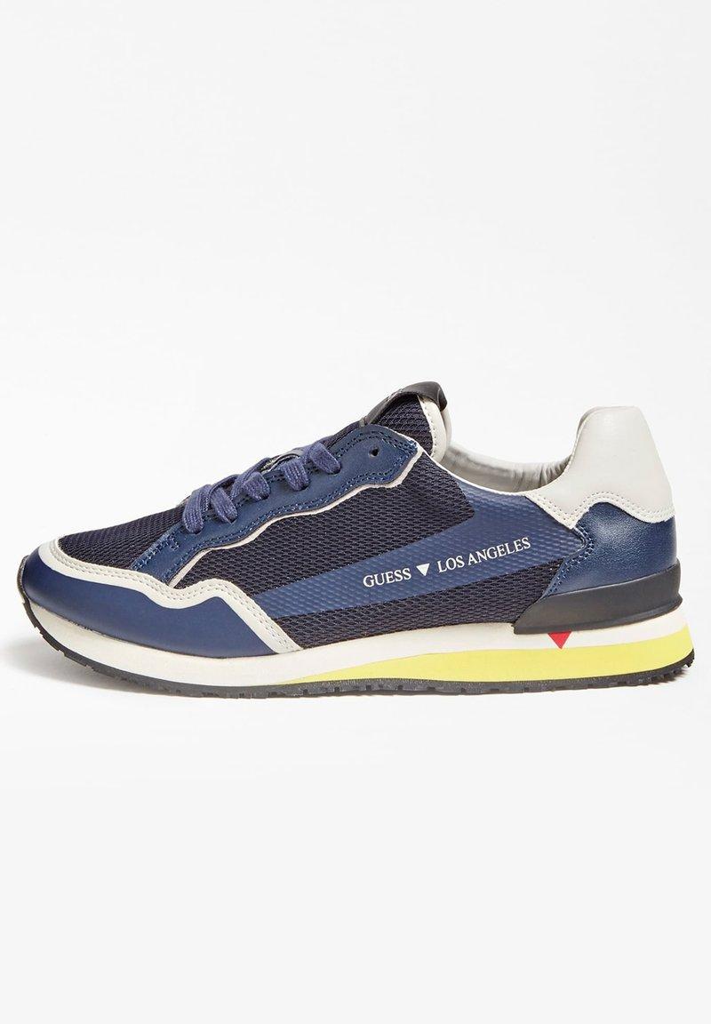 Guess - GENOVA - Sneakers basse - bleu
