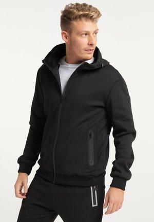 Zip-up hoodie - schwarz schwarz