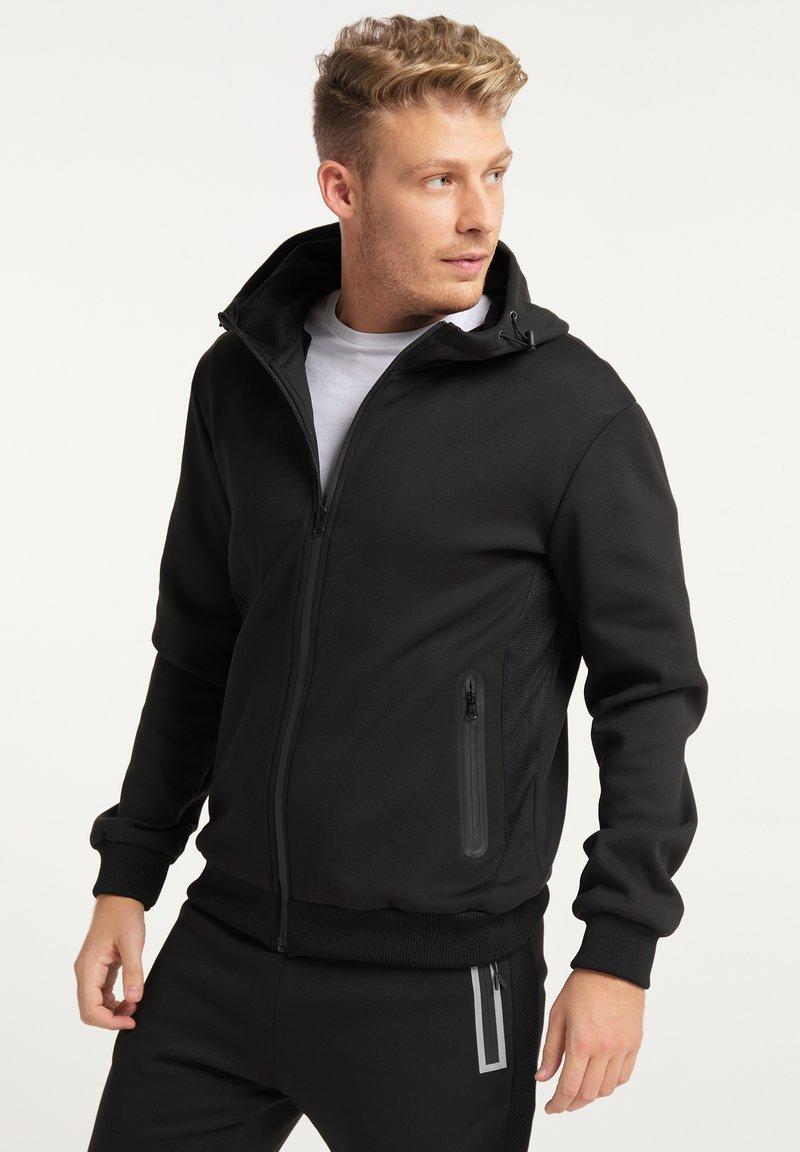 Mo - Zip-up hoodie - schwarz schwarz