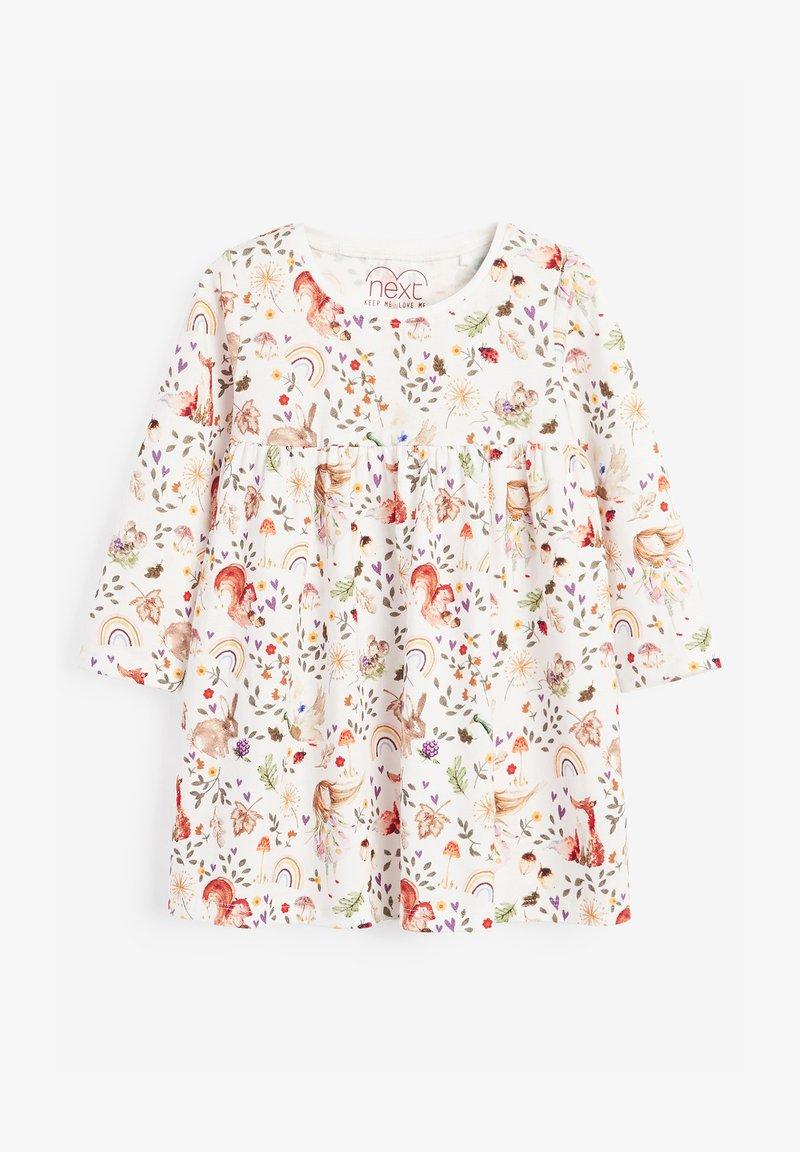 Next - Jersey dress - off-white