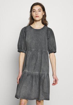 SAMMIGZ DRESS  - Denim dress - washed black