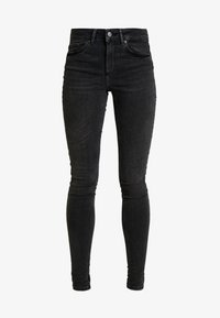 Vero Moda - VMLUX SUPER SLIM - Jeans Skinny Fit - black - 4