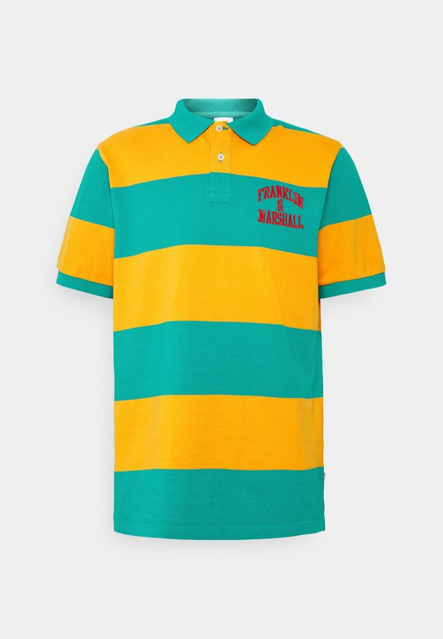 Poloshirt - banana/water green