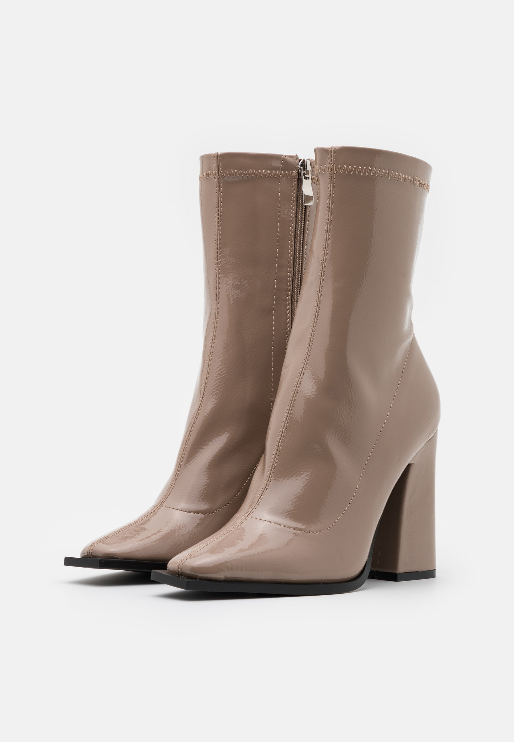RAID VALENCIA High Heel Stiefelette taupe/taupe