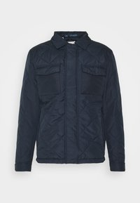 Selected Homme - SLHARVEY QUILTED - Light jacket - sky captain - 4