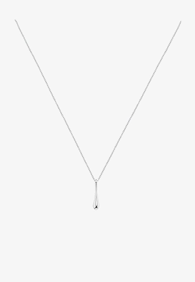 FLUID - Necklace - silver
