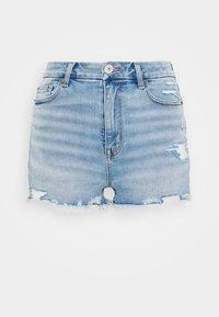 CURVY PRIDE HI RISE - Denim shorts - indigo