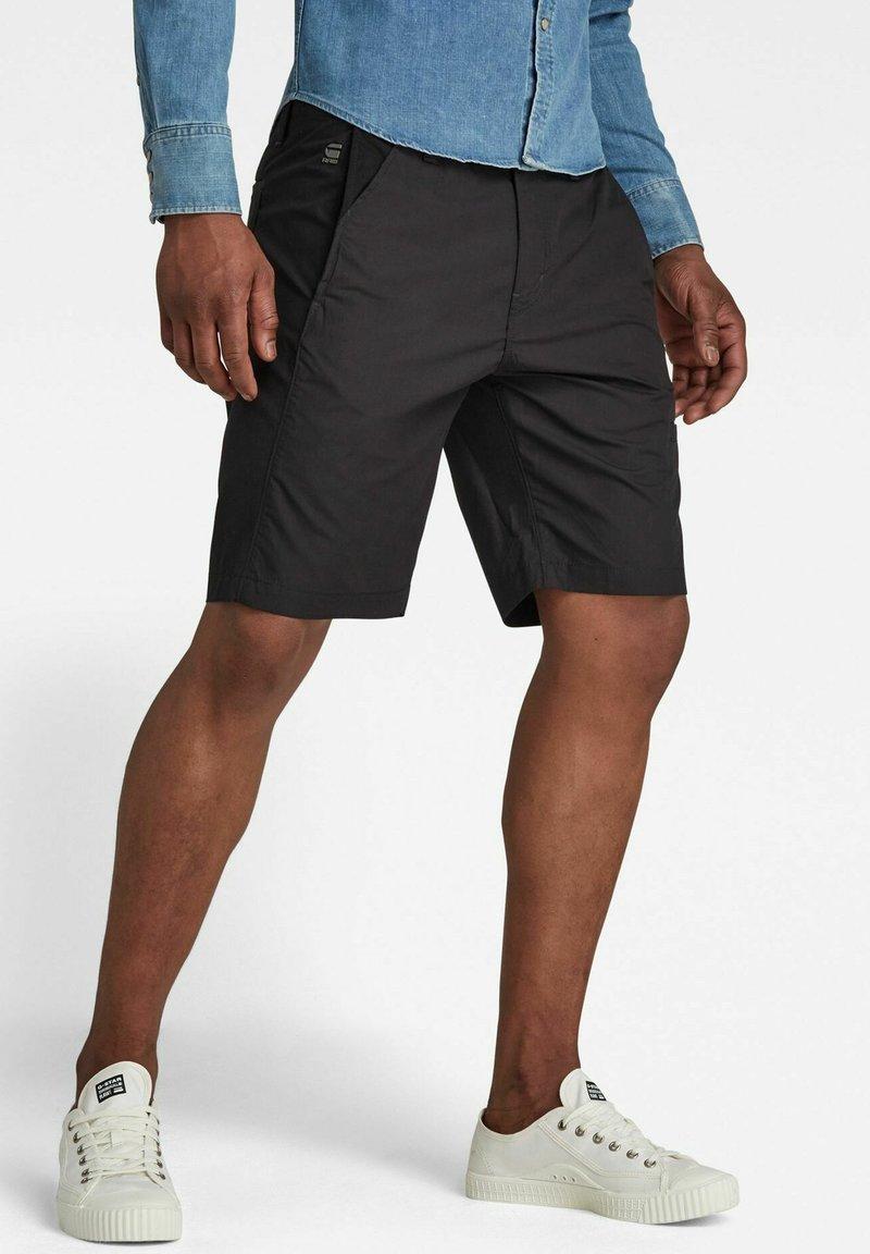 G-Star - Shorts - pabe poplin - dk black