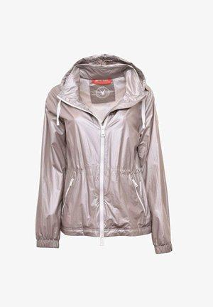 Waterproof jacket - silver