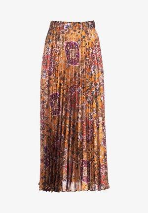 FARI - A-line skirt - var ruggine