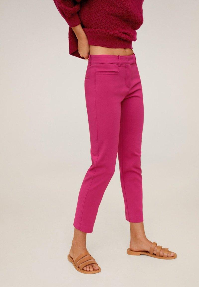 Mango - ALBERTO - Spodnie materiałowe - fuchsia