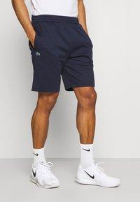 Lacoste Sport - TECH SHORT - Träningsshorts - navy blue - 0