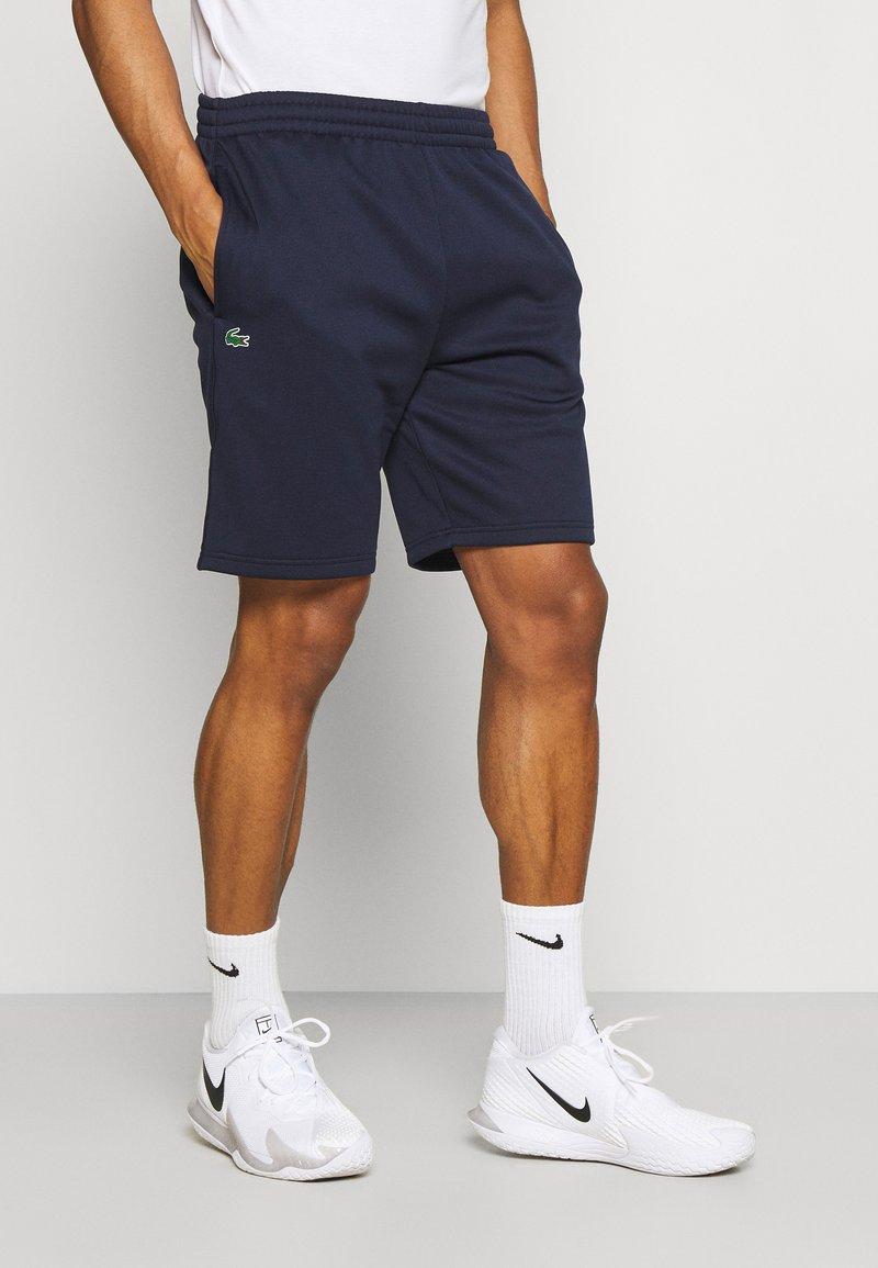 Lacoste Sport - TECH SHORT - Träningsshorts - navy blue