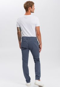 Cross Jeans - Chinos - blau-strukturiert - 2