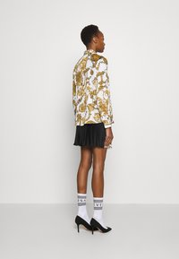 Versace Jeans Couture - SHIRT - Blouse - white/gold - 4