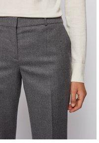 BOSS - TILUNI - Trousers - grey - 3