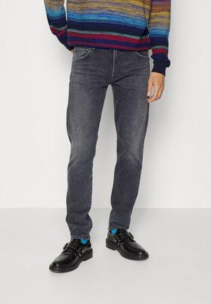 ADLER - Jeans Straight Leg - slader med dark black