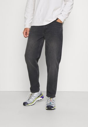 RELAXED TAPERED - Jean boyfriend - black wash