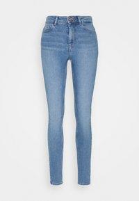 Pieces - PCMIDFIVE FLEX - Jeans Skinny Fit - light blue denim - 0